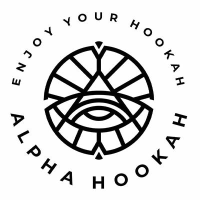 Alpha Hookah logo