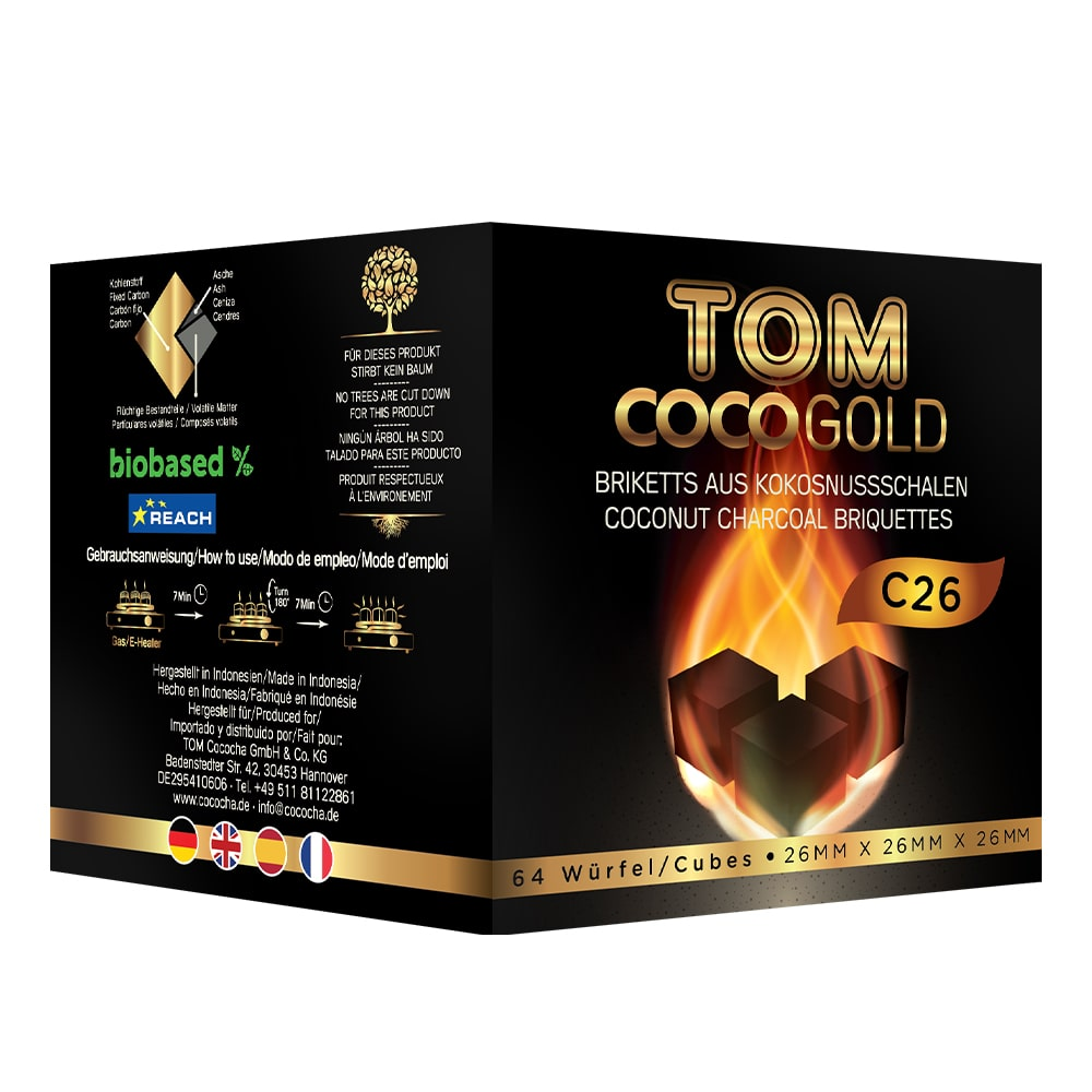 Carbuni narghilea Tom Coco C26
