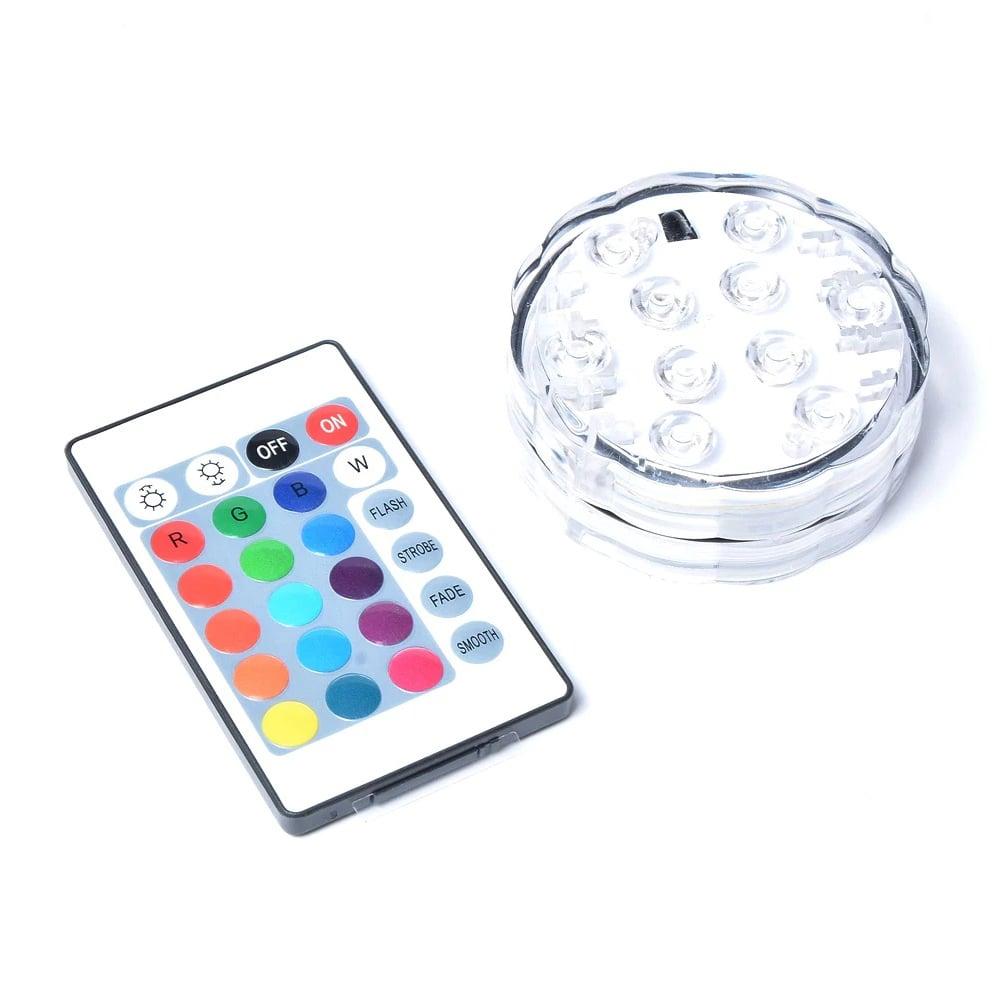 Iluminare LED narghilea