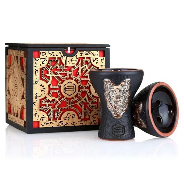 Creuzet Japona Hookah Samurai Gold Exclusive Box