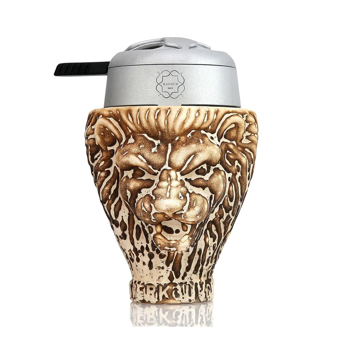 Creuzet Werkbund Hookah Lion Kaloud Lotus