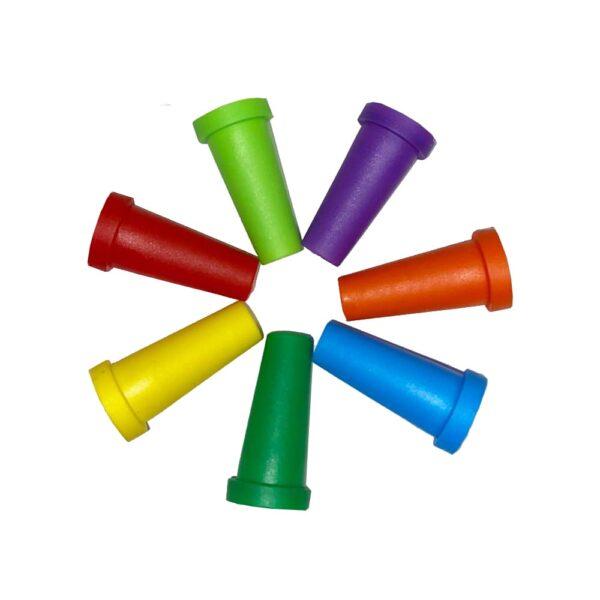 Mustiucuri de unica folosinta colorate