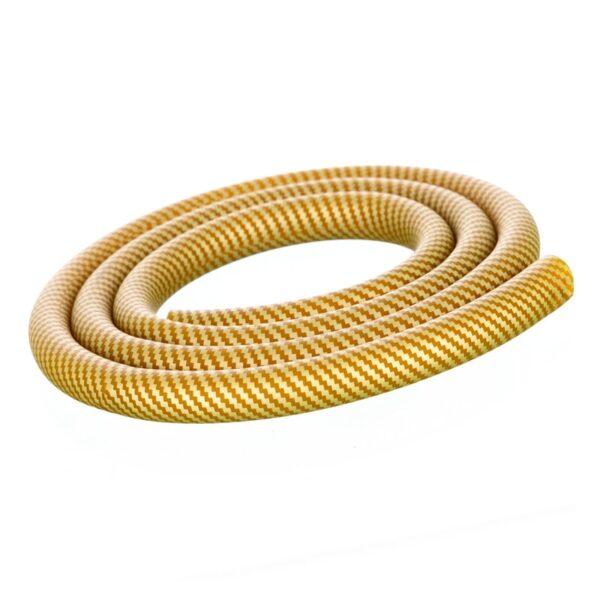Furtun narghilea model Carbon gold
