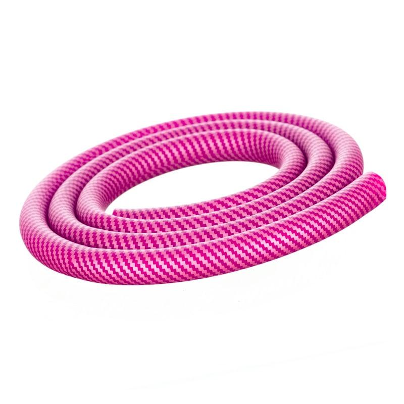 Furtun narghilea model Carbon pink